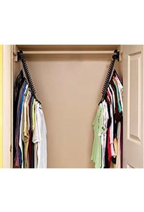 Pratik Şeyler Closet Doubler Dolap İçi Düzenleyici Askı