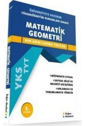 Üniversiteye Hazırım Matematik- Geometri Tyt Son Adım Karma Test