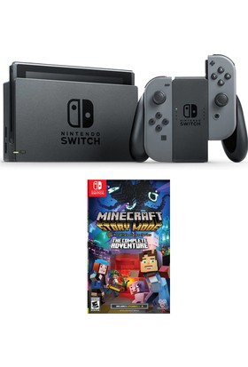 Nintendo Switch Gri + Minecraft Story Mode The Complate Adventure