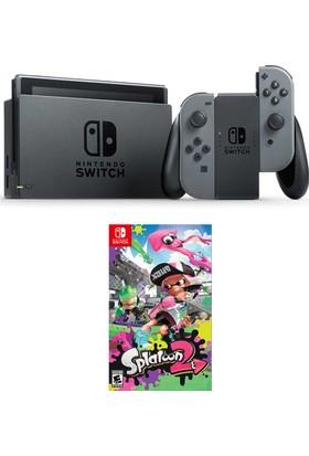 Nintendo Switch Gri + Splatoon 2