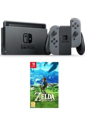 Nintendo Switch Gri + Zelda