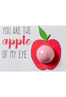 Lolabomb You Are The Apple Of My Eye Blaster Card 50 gr Banyo Topu
