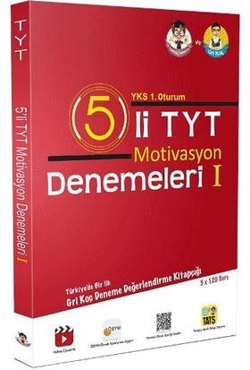 Tonguç Akademi Yayınları Tyt 5 Li Motivasyon Denemesi