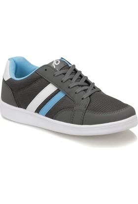 Torex Mılo Antrasit Beyaz Mavı Erkek Sneaker