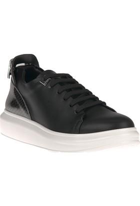 Uniquer, Kadın Ayakkabı 8158U 142 Siyah-Gümüş