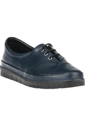 Uniquer, Kadın Hakiki Deri Ayakkabı 8133U 12 Lacivert