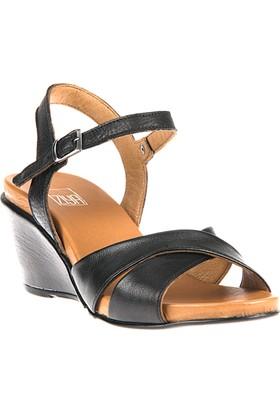 Ziya, Kadın Hakiki Deri Sandalet 8176 6032 Siyah