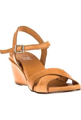 Ziya, Kadın Hakiki Deri Sandalet 8176 6032 Taba