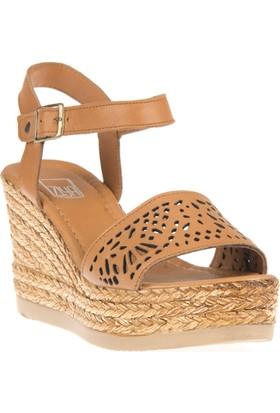 Ziya, Kadın Hakiki Deri Sandalet 8176 6048 Taba