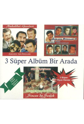 Various Artists - 3 Süper Albüm Bir Arada 3CD