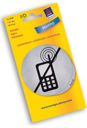 Avery Zweckform Paslanmaz Çelik İşaret Tabelaları Cep Telefonu Yasak