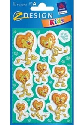 Avery Kids Kabartmalı Çıkartma 53725