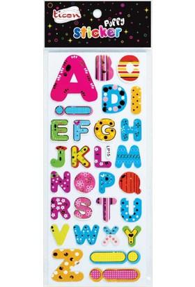 Ticon Harf Sticker Yapışkanlı 138061