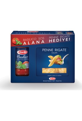 Barilla Basilico sos (400 gr) - Barilla Penne Rigate (500 gr) Hediyeli