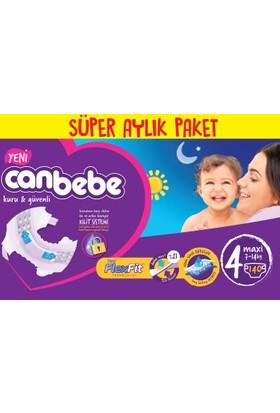Canbebe Bebek Bezi Online Özel Paket 4 Beden 140 Adet