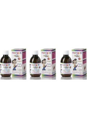Dev 3 Adet Nutrigen Omega 3 Balık Yağı Vitamin Mineral