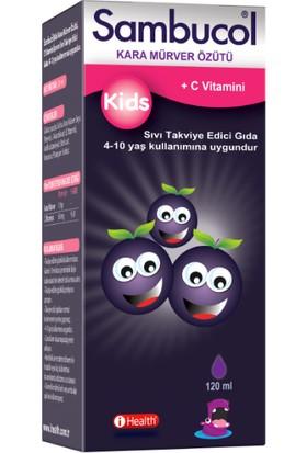 Sambucol Kids Kara Mürver Ekstresi Likit Şurup 120 ml