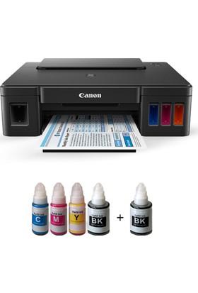 Canon Photoink Mürekkeplipixma G2400 Yazıcı Ve Bitmeyen Kartuş Sistemi