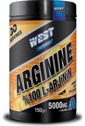 West Nutrition Arjinin Arginine 150 gr