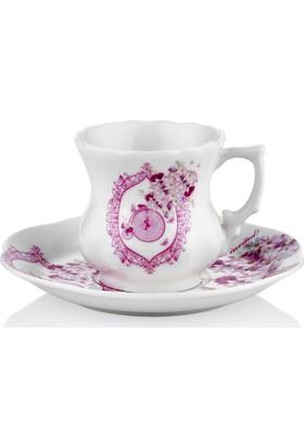 Taç Romantic Tender 6 Lı Kahve Fincan Takımı (Tf)
