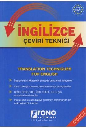 Fono İngilizce Çeviri Tekniği Uygulamalar ve Cevapları - Birsen Çankaya