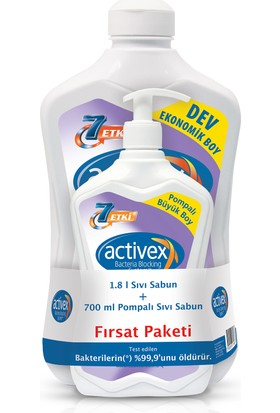 Activex 1.8 Lt + 700 Ml Sıvı Sabun