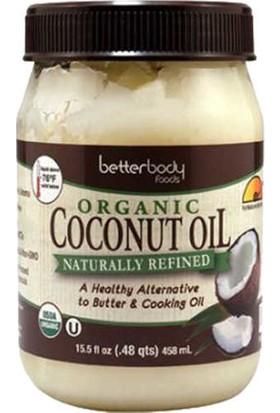 Better Body Foods Organic Hindistan Cevizi Yağı 458ML