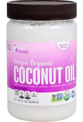 Better Body Foods Virgin Hindistan Cevizi Yağı 828ML