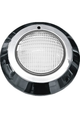 Aktes Beyaz Işık Paslanmaz Sıva Üstü Havuz Lambası