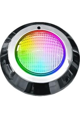 Aktes Rgb Işık Paslanmaz Sıva Üstü Havuz Lambası