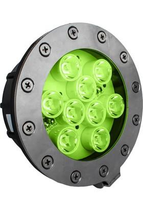 Aktes 9 Watt Yeşil Işık Par 38 Havuz Aydınlatma Spotu