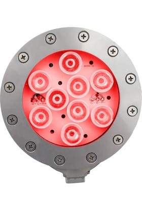 Aktes 9 Watt Kırmızı Işık Par 38 Havuz Aydınlatma Spotu