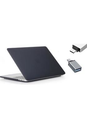 Macstorey Apple Yeni MacBook Pro A1707 15 inç 15.4 inç Kılıf Kapak Kılıf Hard Case Mat+ Usb-c Hub Kutulu 918