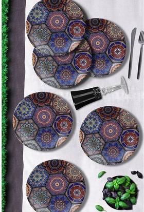 Keramika 6 Adet 25 Cm Kera Art Mihribah-17669