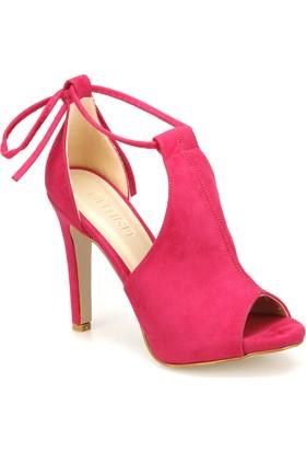 Butigo Dante 37Z Fuşya Kadın Sandalet