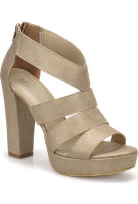 Butigo S1061 Altın Kadın Ayakkabı