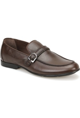 Garamond 201 Kahverengi Erkek Deri Ayakkabı