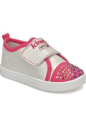 Kinetix Este Gümüş Fuşya Kız Çocuk Sneaker