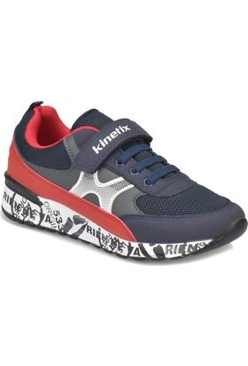 Kinetix Neva Lacivert Kırmızı Erkek Çocuk Sneaker