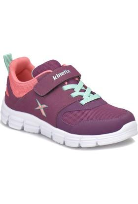 Kinetix Roysı Mor Koyu Mor Pembe Kız Çocuk Koşu Ayakkabısı