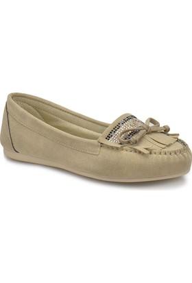 Miss F Ds18021 Kum Rengi Kadın Loafer
