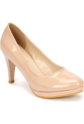 Polaris 71.307316Fz Pudra Kadın Ayakkabı