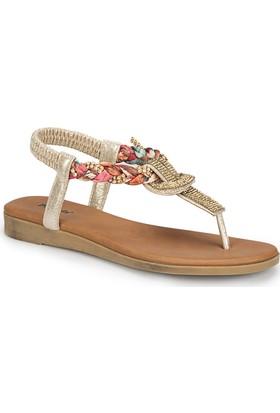 Polaris 81.311520.Z Altın Kadın Sandalet