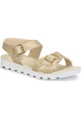 Polaris 81.311703.Z Altın Kadın Sandalet