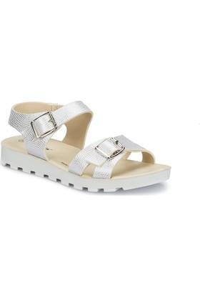 Polaris 81.311703.Z Beyaz Kadın Sandalet