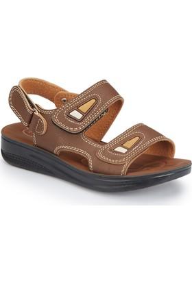 Polaris 81.509051.P Kahverengi Erkek Çocuk Sandalet