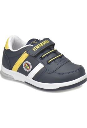 Fb Upton Fb K Lacivert Beyaz Sarı Unisex Çocuk Yürüyüş Ayakkabısı