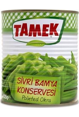 Tamek Sivri Bamya 800 G