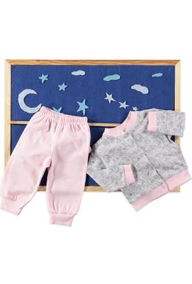 Carmin Baby Tavşan Pijama Takımı Pembe