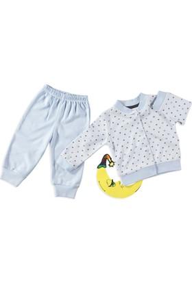 Carmin Baby Yıldızlı Pijama Mavi